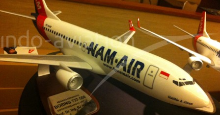 NAM AIR BOEING 737-500 - Gambar dari ndo-aviation.com
