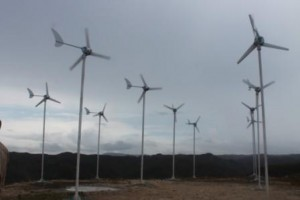 Kincir Angin Membangkitkan energi listrik untuk 22 rumah tangga di Dusun Kalihi Desa Kamanggi Kec. Kahunga Eti SUmba Timur NTT