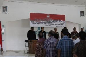 Pleno Penetapan Caleg Terpilih Pileg 2014 Kab. Sumba Timur