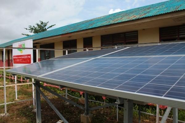 PLTS di SD Praimarada. Desa Umamanu kecamatan Lewa Tidahu Sumba Timur