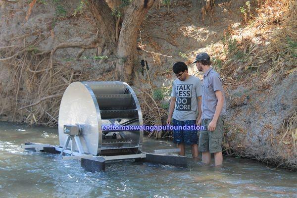 Pompa Barsha dari Belanda di Sungai Payeti
