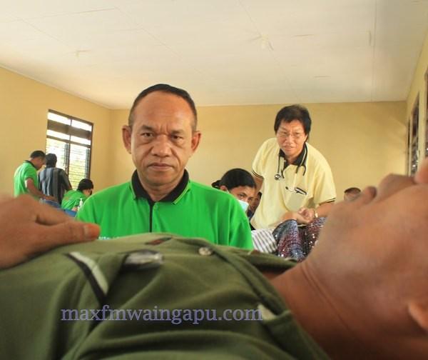 Donor Darah di Aula Kelurahan Hambala [foto: Heinrich Dengi]
